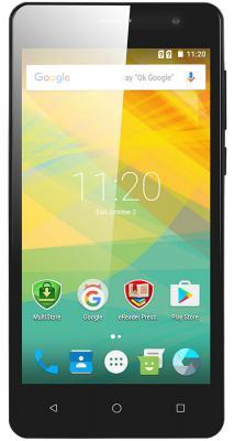 "Смартфон Prestigio Wize PX3 черный 5"" 8 Гб Wi-Fi GPS 3G PSP3528DUOBLACK"