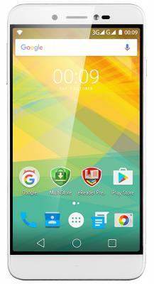 "Смартфон Prestigio Grace Z5 серебристый 5.3"" 8 Гб Wi-Fi GPS 3G PSP5530DUOSILVER"