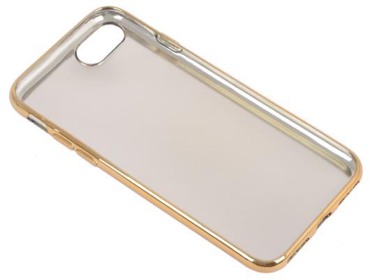 Накладка LP Кожа и краски для iPhone 7 золотой 0L-00029542