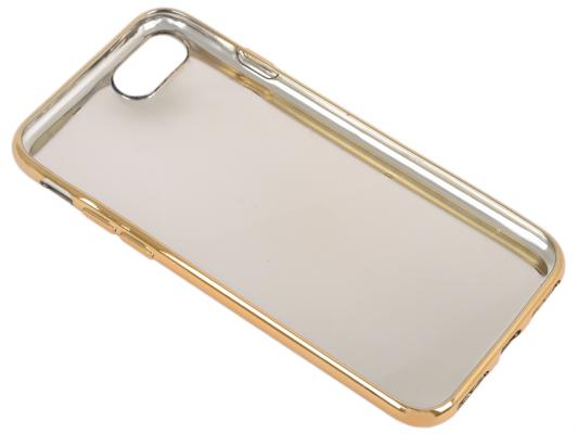 Накладка LP Клетка сиреневая для iPhone 7 золотой 0L-00029569