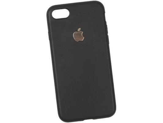 Чехол для смартфона iPhone 7 Leather TPU Case (черный) 0L-00029830
