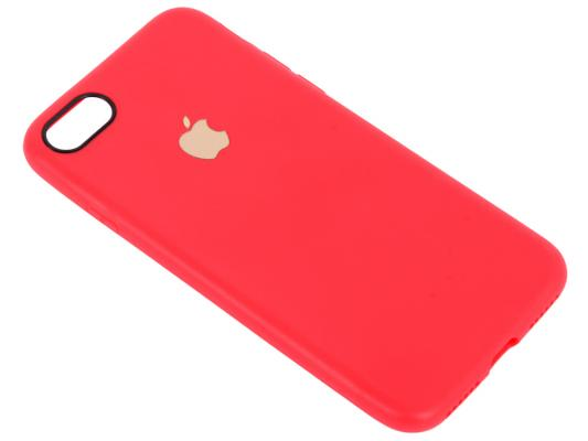 Чехол для смартфона iPhone 7 Leather TPU Case (красный) 0L-00029826 glossy candy jelly tpu case for iphone 7 4 7 inch black