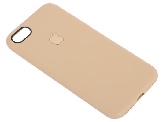 Чехол для смартфона iPhone 7 Leather TPU Case (золото) 0L-00029828