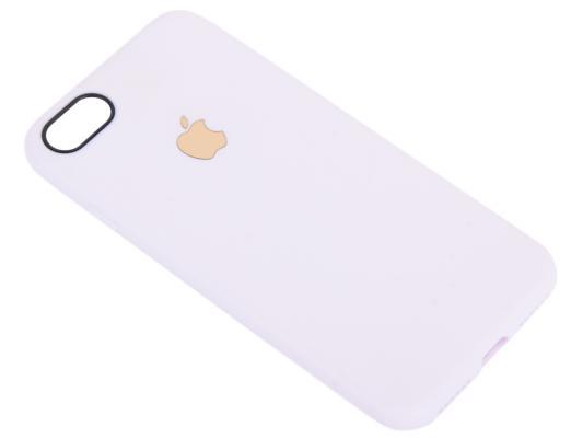 Чехол для смартфона iPhone 7 Leather TPU Case (белый) 0L-00029824