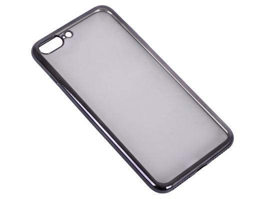 Накладка DF iCase-09 для iPhone 7 Plus чёрный