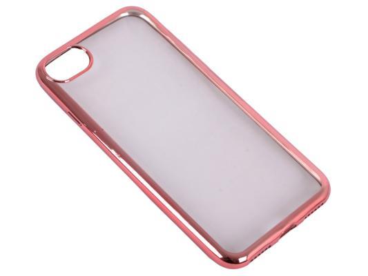 Накладка DF iCase-08 для iPhone 7 розовый золотой