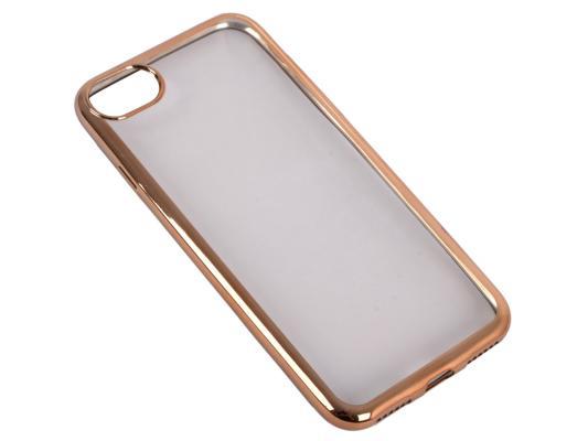 Накладка DF iCase-08 для iPhone 7 золотой