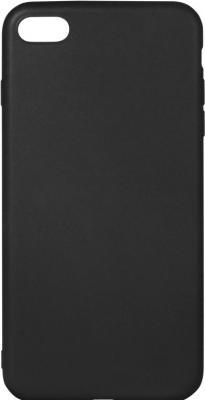 Силиконовый супертонкий чехол для iPhone 7 DF iColorCase-01 (black)