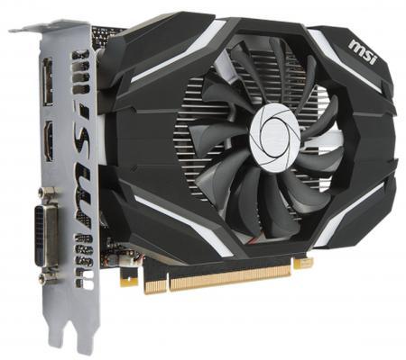 Видеокарта 2048Mb MSI GeForce GTX 1050 PCI-E GDDR5 GTX 1050 2G Retail