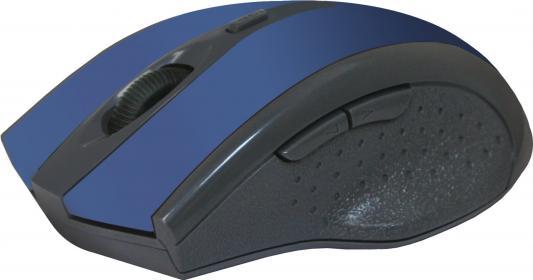 Мышь беспроводная Defender Accura MM-665 синий USB 52667 беспроводная мышь defender accura mm 665 usb red