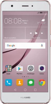 Смартфон Huawei Nova CAN-L11 розовое золото 5 32 Гб LTE Wi-Fi GPS 3G 51091AKX смартфон zte blade v8 золотистый 5 2 32 гб lte wi fi gps 3g bladev8gold
