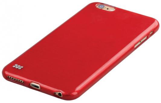 Накладка Promate Schema-i6P для iPhone 6 Plus красный promate tama i6p чехол для iphone 6 plus black