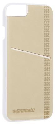 Накладка Promate Slit-i6P для iPhone 6 Plus кремовый