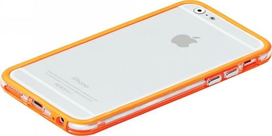 Накладка Promate Bump-i6 для iPhone 6 оранжевый