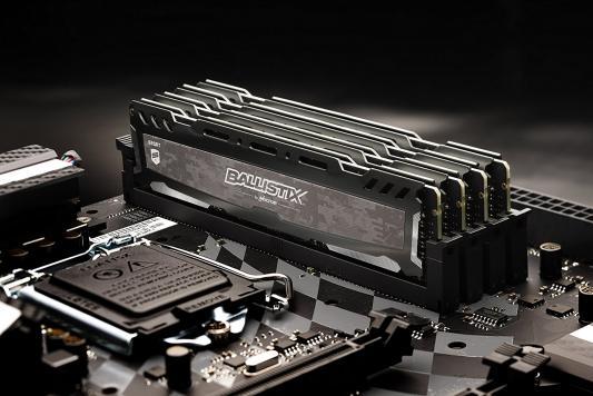 Оперативная память 4Gb PC4-21300 2666MHz DDR4 DIMM Crucial BLS4G4D26BFSB