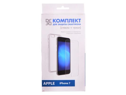 Закаленное стекло + чехол для смартфонов iPhone 7 DF iKit-03