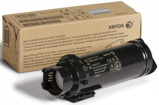 Картридж Xerox 106R03488 для Phaser 6510/WC 6515 черный 5500стр картридж xerox 106r03487 для phaser 6510 wc 6515 желтый 2400стр