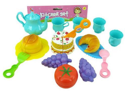 """Набор для резки Shantou Gepai """"Лето"""" с посудой Y13926016"""