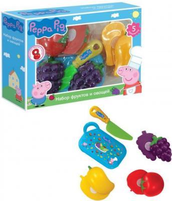 Набор фруктов и овощей Росмэн Peppa Pig  29888 peppa pig транспорт 01565