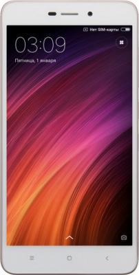 Смартфон Xiaomi Redmi 4A розовое золото 5 16 Гб LTE Wi-Fi GPS 3G REDMI4ARSGD16GB смартфон zte blade v8 золотистый 5 2 32 гб lte wi fi gps 3g bladev8gold