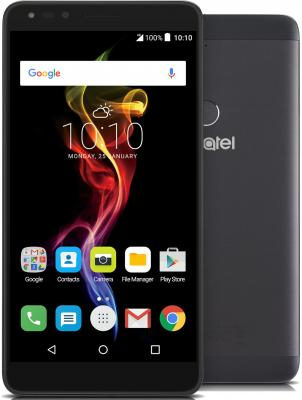 Смартфон Alcatel OneTouch 7070 POP 4-6 графит 6 16 Гб Wi-Fi GPS 3G LTE смартфон asus zenfone live zb501kl золотистый 5 32 гб lte wi fi gps 3g 90ak0072 m00140