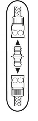 Переходник Gardena 02931-29.000.00 переходник для наращивания шланга gardena 1 2 3 4 02931 29 000 00