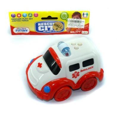 Машина Shantou Gepai Скорая помощь разноцветный 14 см 6927711957673