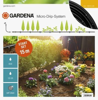 Комплект полива Gardena 13010-20.000.00 таймер подачи воды gardena multicontrol duo 01874 29 000 00