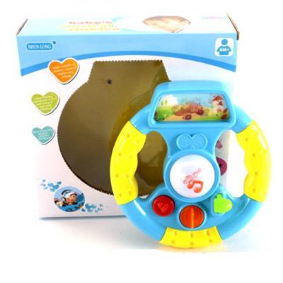 Интерактивная игрушка Shantou Gepai Руль от 6 месяцев разноцветный 6927712866059