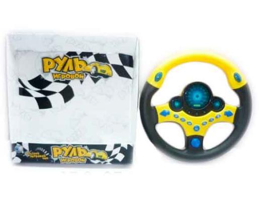 Интерактивная игрушка Shantou Gepai Руль от 3 лет разноцветный 6921079672032