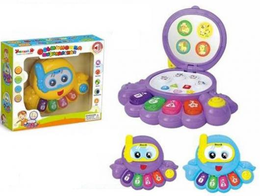 """Интерактивная игрушка Shantou Gepai """"Умный Я"""" - Осьминожка от 3 лет разноцветный"""