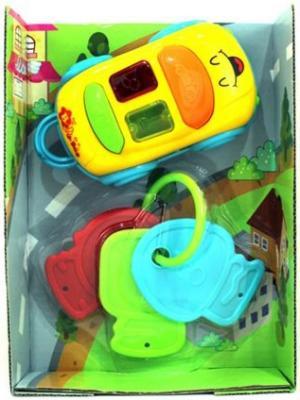 Погремушка Shantou Gepai Машинка с ключами-прорезывателем со светом и звуком для мальчика  Y744321