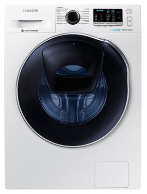 Стиральная машина Samsung WD80K5410OW белый стиральная машина samsung ww70j52e0hwdlp белый