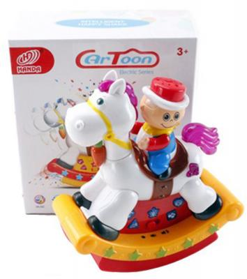 """Интерактивная игрушка Shantou Gepai """"Наездник"""" от 3 лет разноцветный  HD9018"""