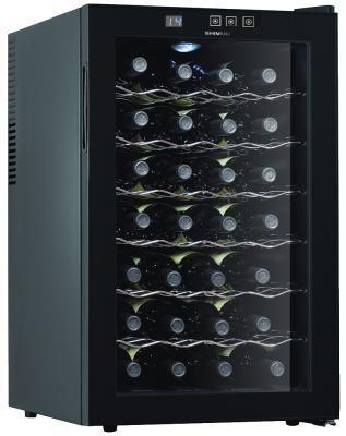 Винный шкаф Shivaki SHW-28V1 черный