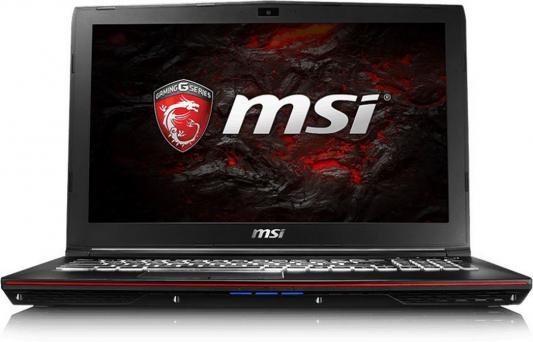 Ноутбук MSI GP62 7RE-659RU Leopard Pro 15.6 1920x1080 Intel Core i7-7700HQ 9S7-16J942-659 ноутбук msi gs43vr 7re 094ru phantom pro 9s7 14a332 094