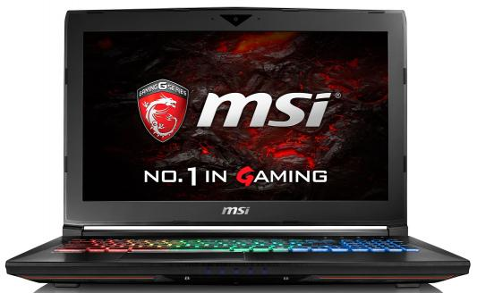 Ноутбук MSI GT62VR 7RE-261RU Dominator Pro 4K 15.6 3840x2160 Intel Core i7-7700HQ 9S7-16L231-261 игровой ноутбук msi gs43vr 7re phantom pro 9s7 14a332 089
