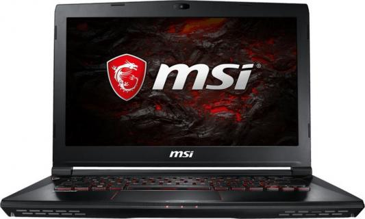 Ноутбук MSI GS43VR 7RE-201RU Phantom Pro 14 1920x1080 Intel Core i7-7700HQ 9S7-14A332-201 ноутбук msi phantom pro 094ru gs43vr 7re core i5 7300hq 2 5ghz 14 16gb 1tb gtx1060 w10h64 9s7 14a332 094