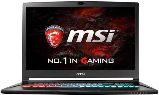 Ноутбук MSI GS73VR 7RF Stealth Pro 4K-279RU 17.3 3840x2160 Intel Core i7-7700HQ msi gs63vr 7rf 410ru stealth pro black
