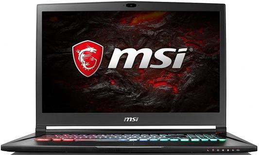 Ноутбук MSI GS73 7RE-015RU Stealth Pro (9S7-17B412-015) ноутбук msi gt62vr 7re dominator pro 428ru 15 6 intel core i7 7700hq 2 8ггц 8гб 1000гб nvidia geforce gtx 1070 8192 мб windows 10 9s7 16l231 428 черный