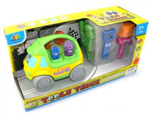 Машина Shantou Gepai Маленький строитель разноцветный
