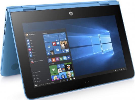 "Ноутбук HP x360 - 11-ab011ur 11.6"" 1366x768 Intel Pentium-N3710 1JL48EA"