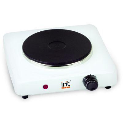 Электроплитка Irit IR-8004 белый чёрный