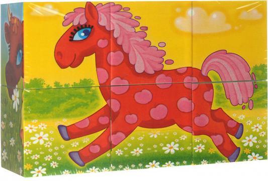 Купить Кубики СТЕЛЛАР Герои сказок N23 от 3 лет 6 шт 00823, Кубики и стенки