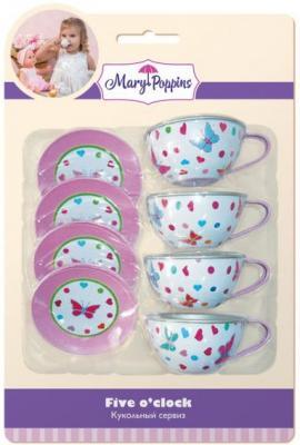 Набор посуды Mary Poppins Бабочки металлическая 453023 mary poppins бабочки 46см