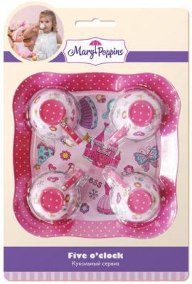 Набор посуды Mary Poppins Принцесса, 5 предметов металлическая 453025 набор посуды rainstahl 8 предметов 0716bh
