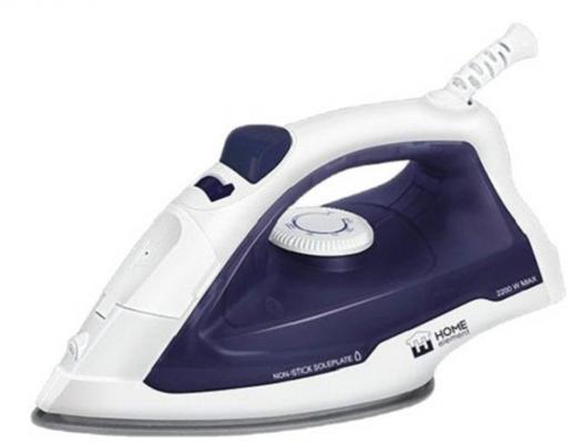 Утюг Home Element HE-IR210 2200Вт синий белый