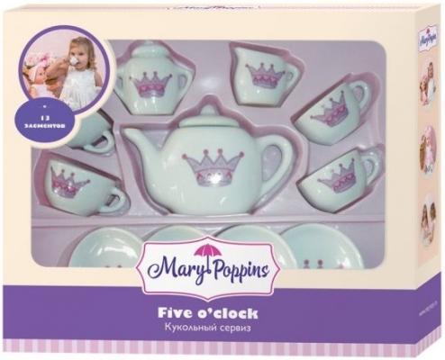 Набор посуды Mary Poppins Корона, 13 предметов фарфоровая 453013 mcmurran mary forensic case formulation