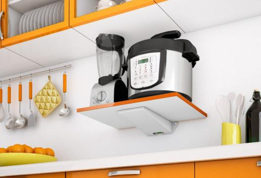 Крепление для СВЧ-печей Holder SKA-O белый оранжевый max 40 кг
