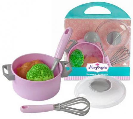 Набор посуды для готовки Mary Poppins Учимся готовить 453036 игра mary poppins набор для резки овощей 453042